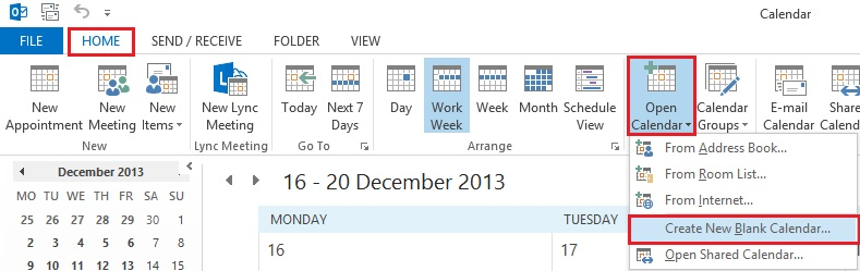 how to create a shared calendar in outlook  u0026 office 365