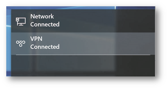 How to configure SSL-VPN connections using Mobile Connect on Windows 10
