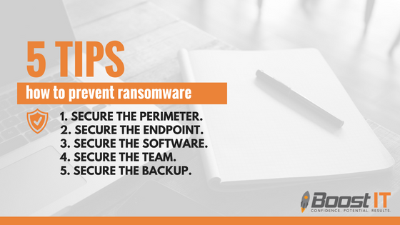 How to prevent ransomware: 5 tips
