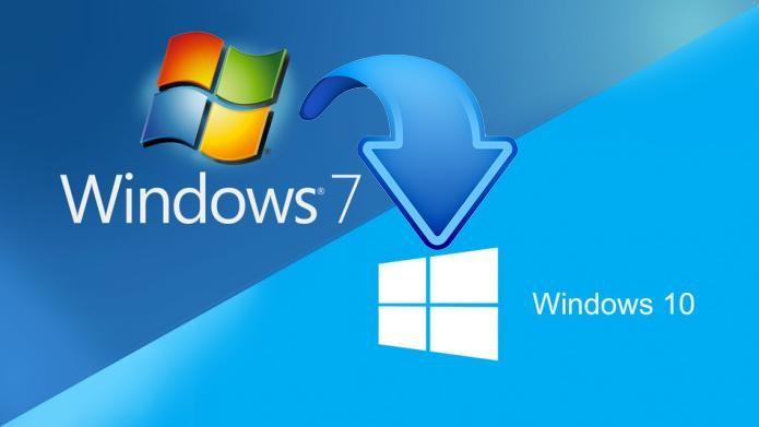 windows 7 end of life. Upgrade to Windows 10